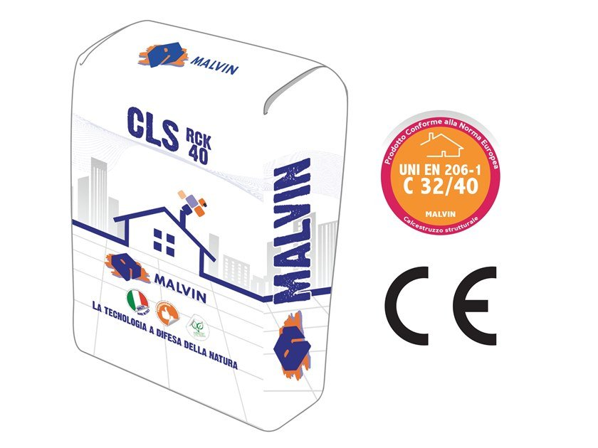 Pre-mixed structural concrete CLS RCK 40 by malvin