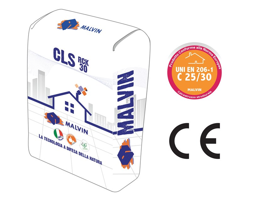 Pre-mixed structural concrete CLS RCK 30 by malvin