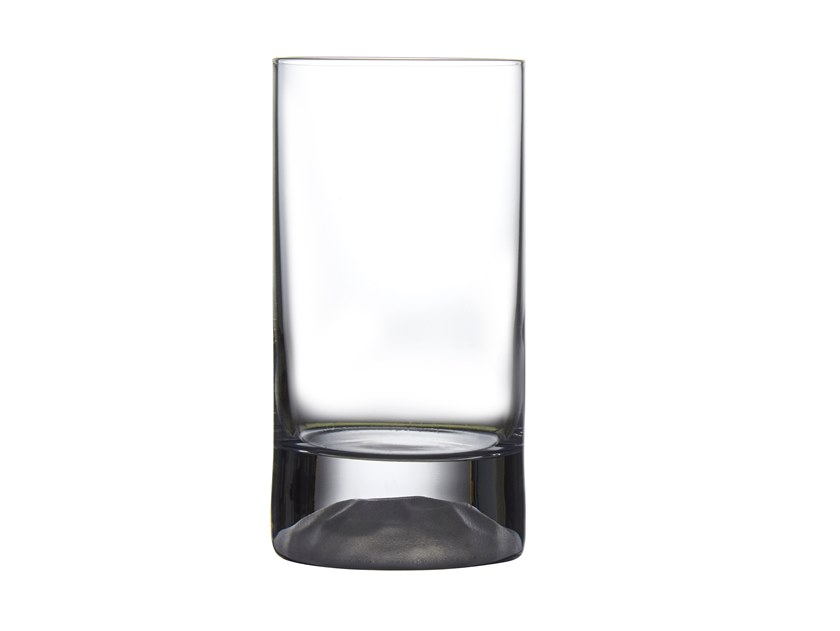 Set of 4 High Ball Glasses Small with Frosted Ripple Effect CLUB ICE S by NUDE