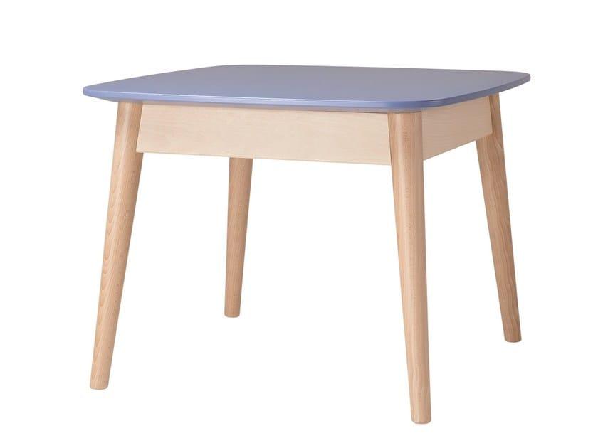 Square side table CLUB | Square coffee table by Sedex