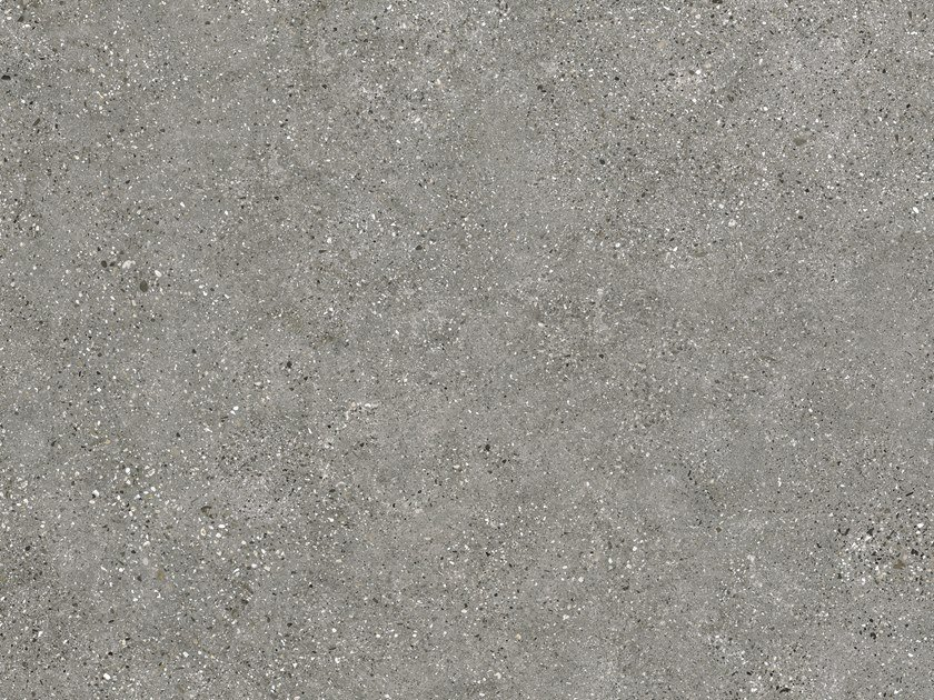Indoor/outdoor porcelain stoneware wall/floor tiles with concrete effect CLUSTER GREY by FMG
