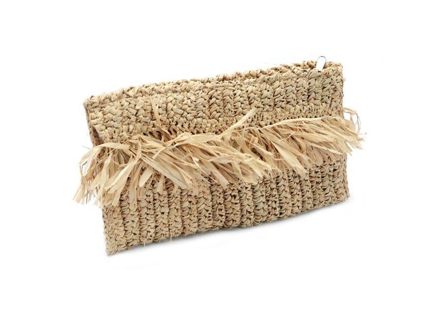 Raffia bag CLUTCH by Bazar Bizar