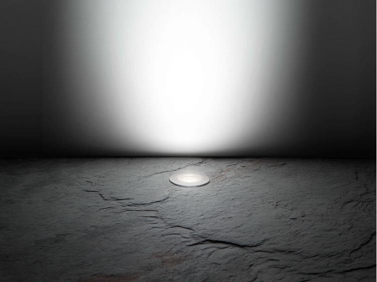 LED walkover light stainless steel steplight CNC35 T 12/24V by Lombardo