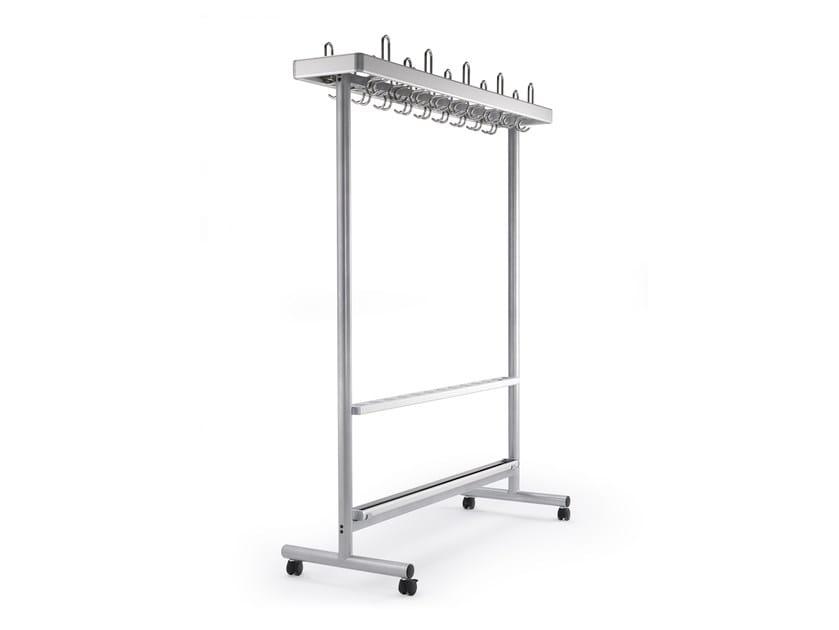 Metal coat rack CERTEZZA | Coat rack by rosconi
