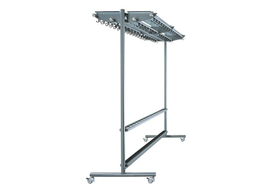 Steel coat rack FIN | Coat rack by rosconi
