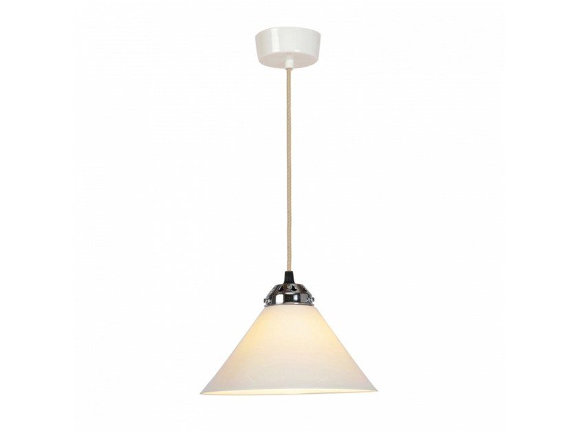 Porcelain pendant lamp with dimmer COBB SMALL by Original BTC