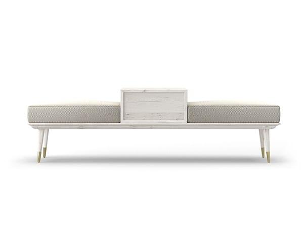 Storage oak bench COCÒ 045 | Bench by Callesella Arredamenti