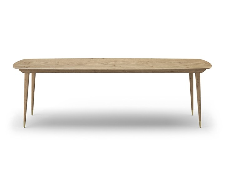 Rectangular wooden table COCÒ 061 | Wooden table by Callesella Arredamenti