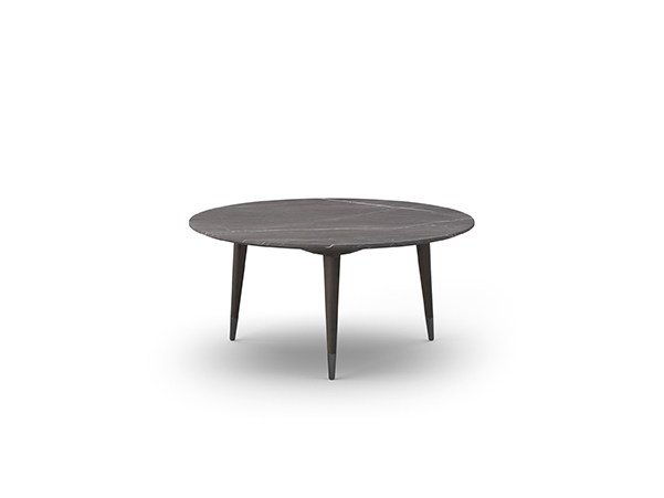 Low round coffee table COCÒ 066 | Coffee table by Callesella Arredamenti