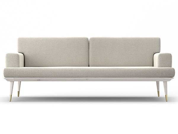 3 seater fabric sofa COCÒ | Sofa by Callesella Arredamenti