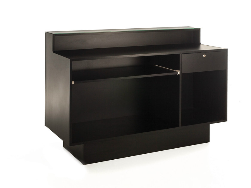 Reception desk with Built-In Lights COCODESK 148 by Gamma & Bross
