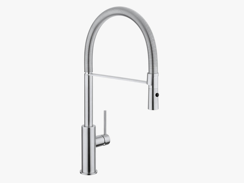 Kitchen mixer tap with pull out spray COCOON MONO 14 by COCOON