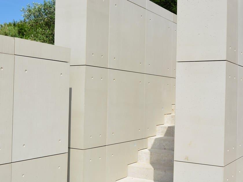 Outdoor Cimento® Panels Smooth - Ando finishing CODA by Cimento