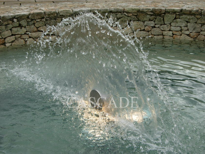 Stainless steel Fountain nozzle CODA DI PAVONE by CASCADE