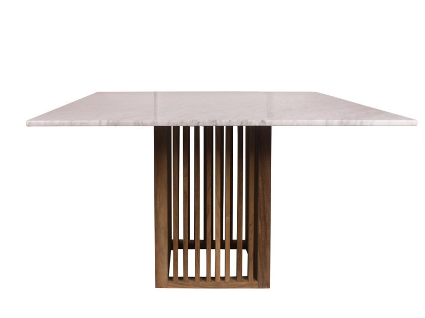 Square garden table CODE | Square table by Il Giardino di Legno