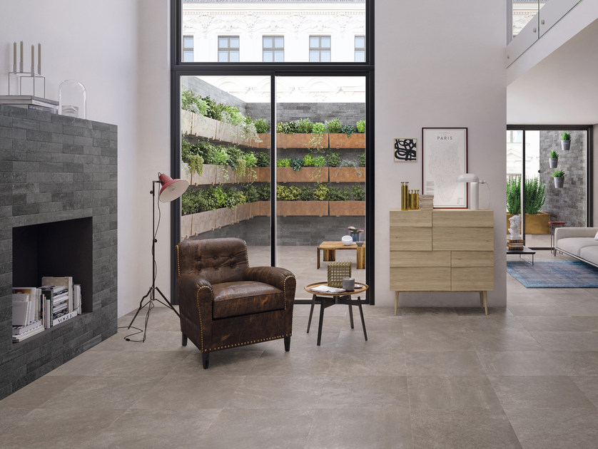 Indoor porcelain stoneware wall/floor tiles CODE TAUPE by CERAMICHE KEOPE