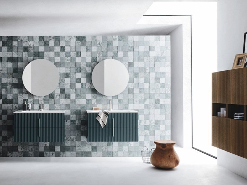 Bathroom cabinet / vanity unit CODE WAVE 12 Code Collection By Arbi ...