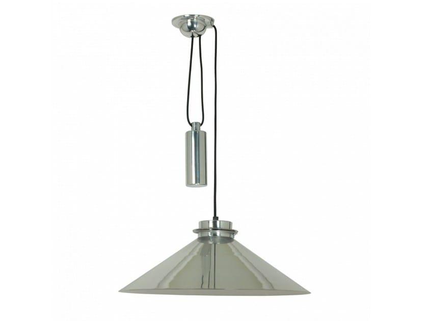 Lampada a sospensione in alluminio con dimmer CODIE RISE & FALL by Original BTC