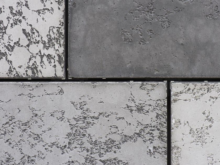 Outdoor Cimento® Panels Vibrated finishing CODV by Cimento