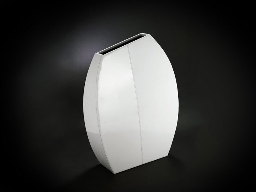 Polyurethane vase COFFEE-BEAN MAXI by VGnewtrend