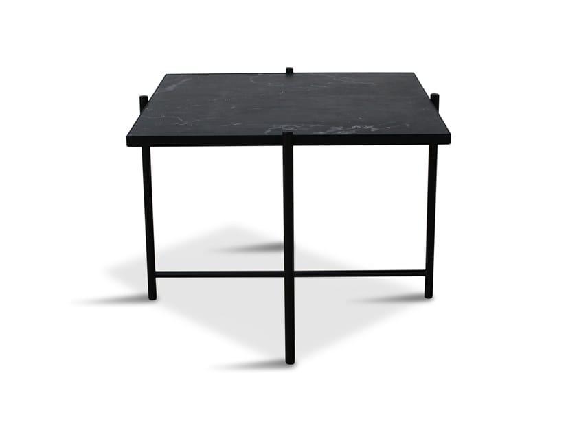 Low square powder coated steel coffee table 60 | Coffee table by Handvärk