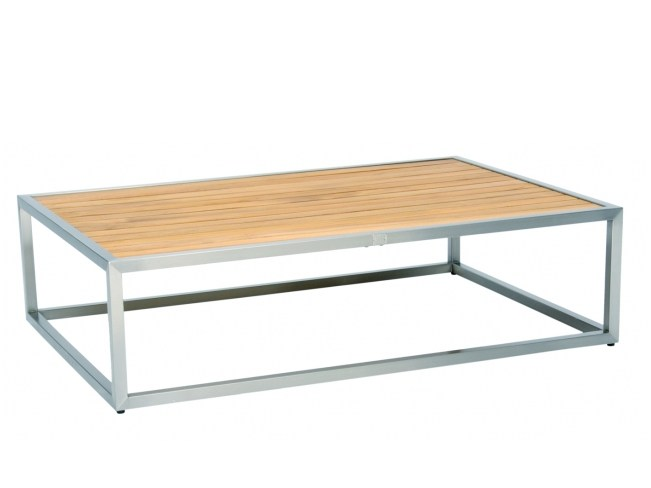 Rectangular steel and wood coffee table CITYSCAPE | Coffee table by 7OCEANS DESIGNS