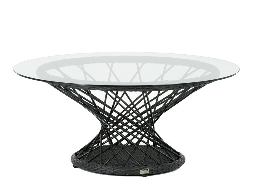 Round garden side table RAVEL   Coffee table by 7OCEANS DESIGNS