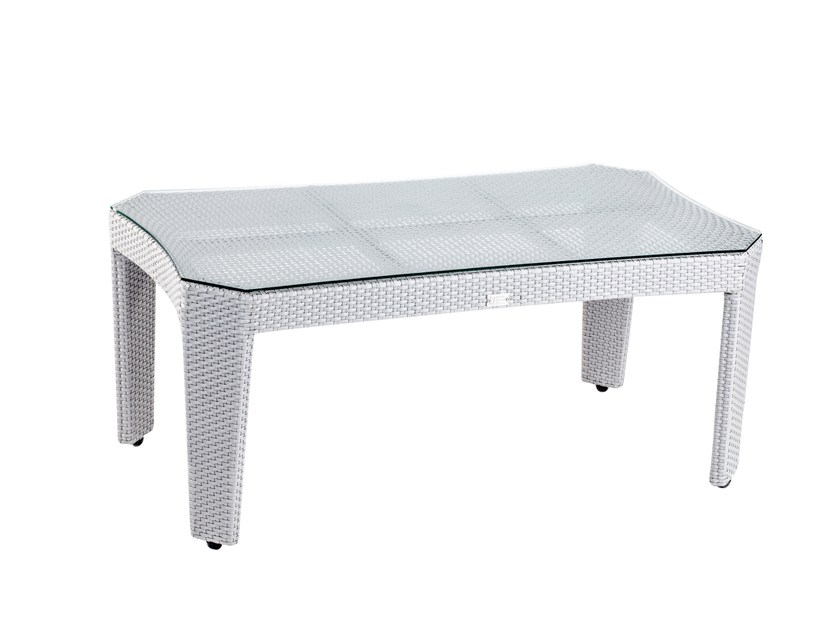 Rectangular garden side table GRACE | Coffee table by 7OCEANS DESIGNS