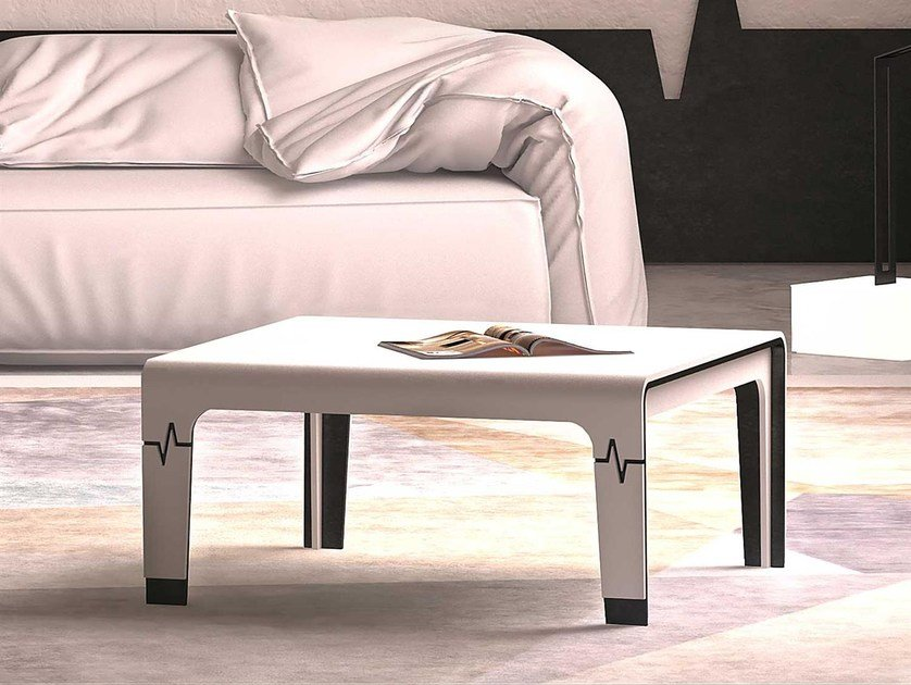 Square Solid Surface coffee table HEART   Coffee table by Boffetto
