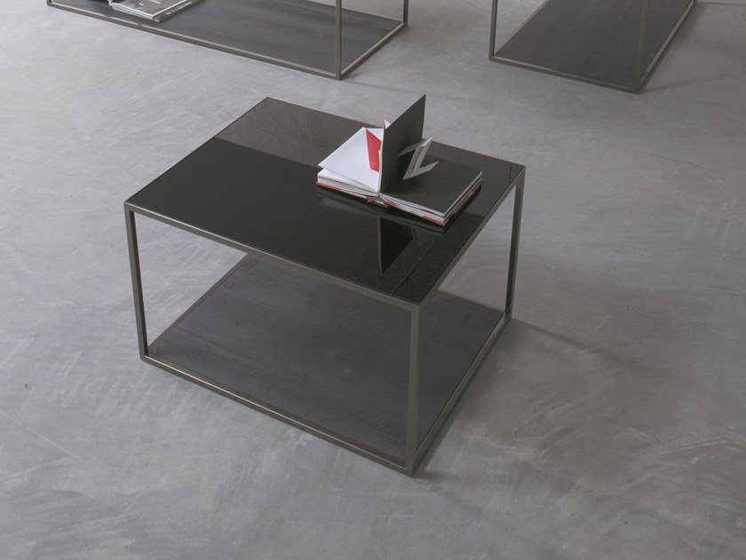 Lacquered coffee table BOX | Coffee table by Capo d'Opera