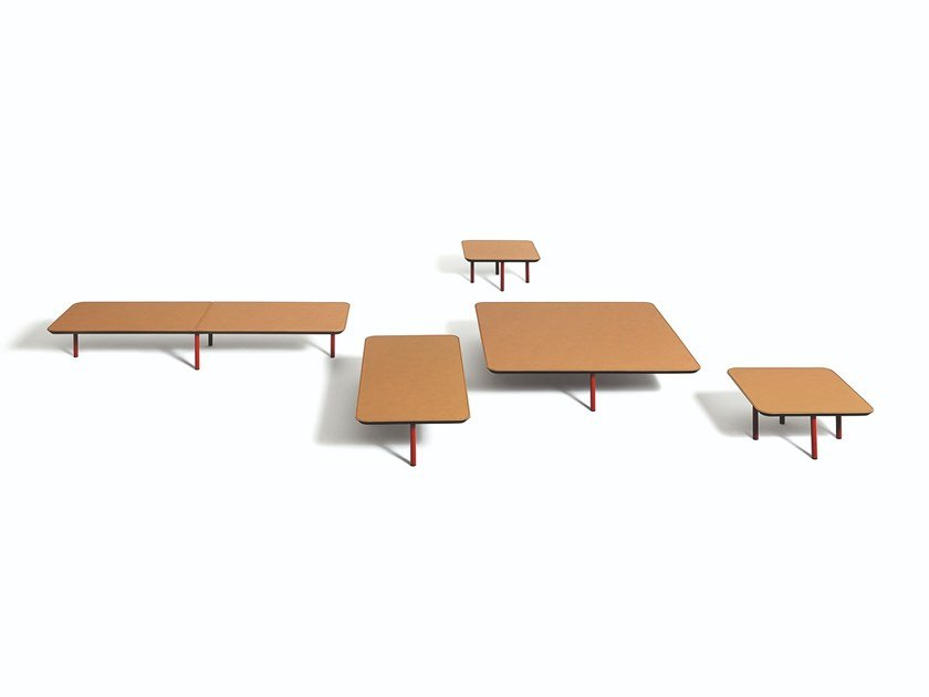 Wood fibre coffee table EREI | Coffee table by DE PADOVA