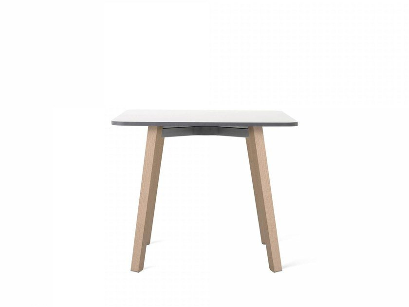 Square HPL coffee table SU | Coffee table by Emeco