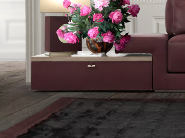 Low coffee table with storage space for living room UFFIZI | Coffee table by Formitalia