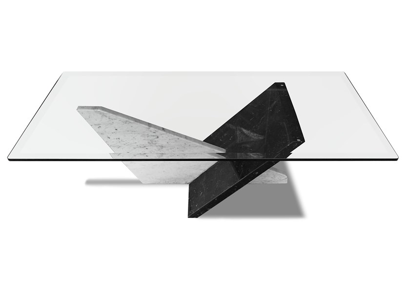 Glass table Table by HEBANON