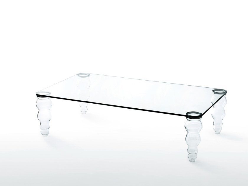 POST MODERN Coffee Table Post Modern Collection By Glas Italia - Post modern coffee table