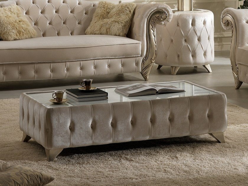 Low rectangular coffee table ROMANTIC | Coffee table by Gold Confort