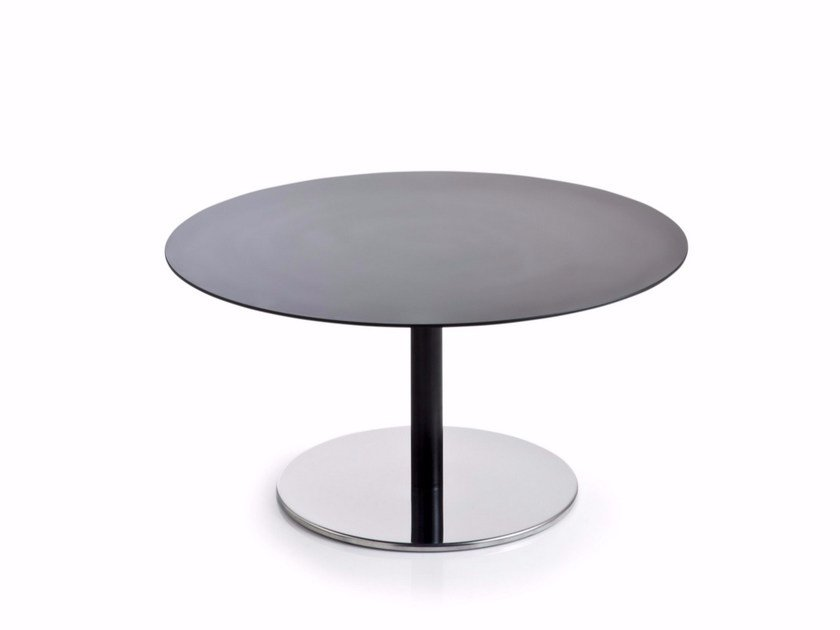 Low Round Hpl Coffee Table Intondo By Luxy