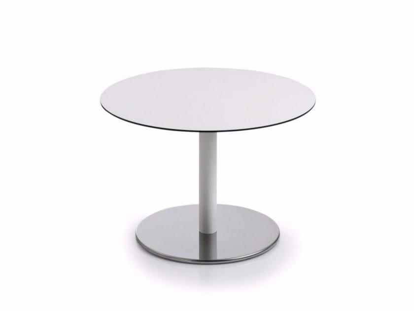 Tavolino basso rotondo in MDF INTONDO | Tavolino rotondo by Luxy