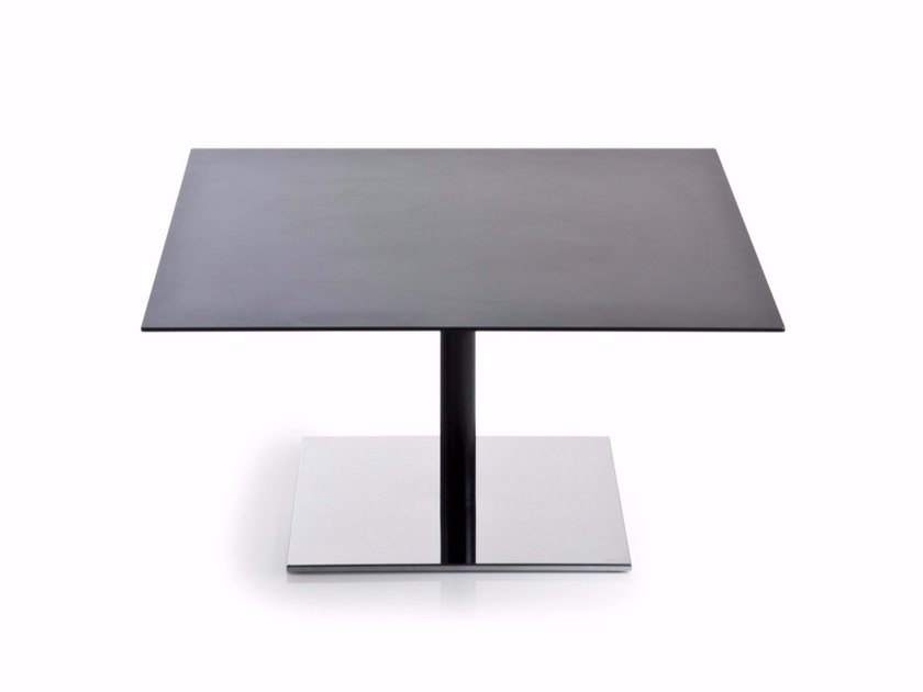 Low square HPL coffee table INQUADRO | Square coffee table by Luxy