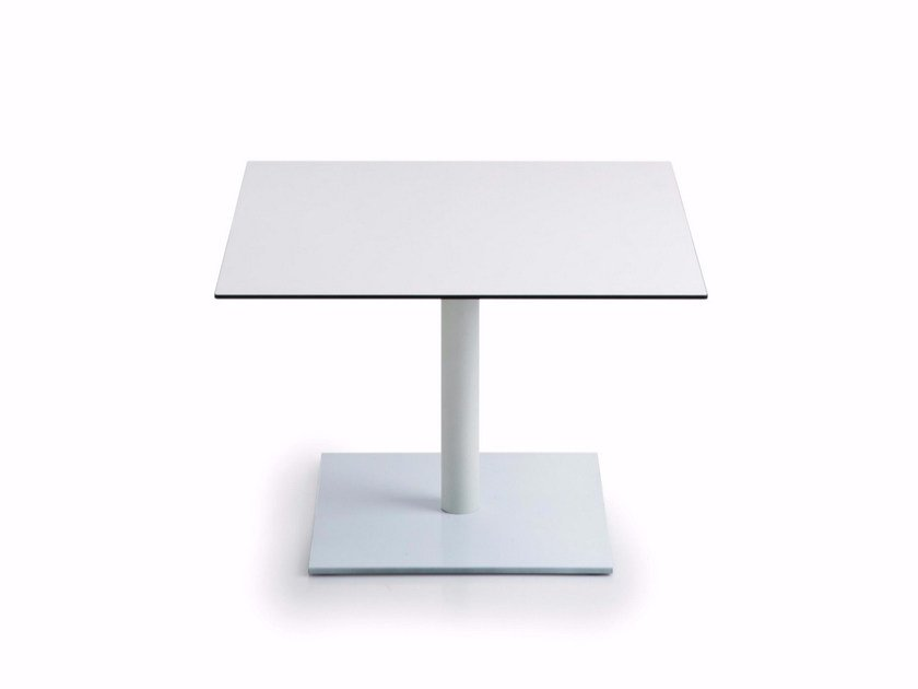 Low square MDF coffee table INQUADRO | Square coffee table by Luxy