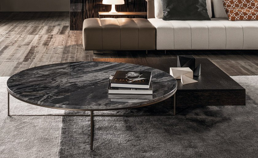 Calder Bronze Coffee Table Calder Bronze Collection By Minotti