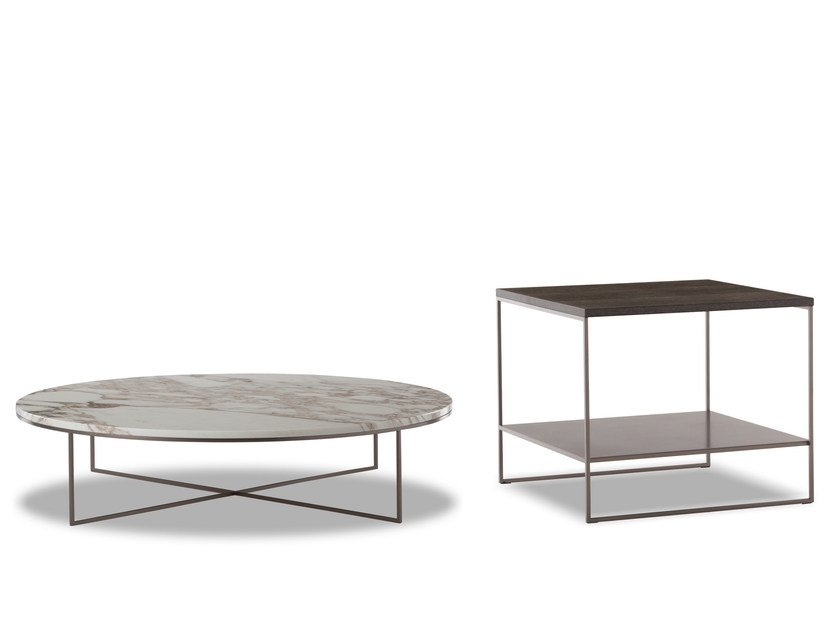 Coffee table CALDER BRONZE | Coffee table by Minotti