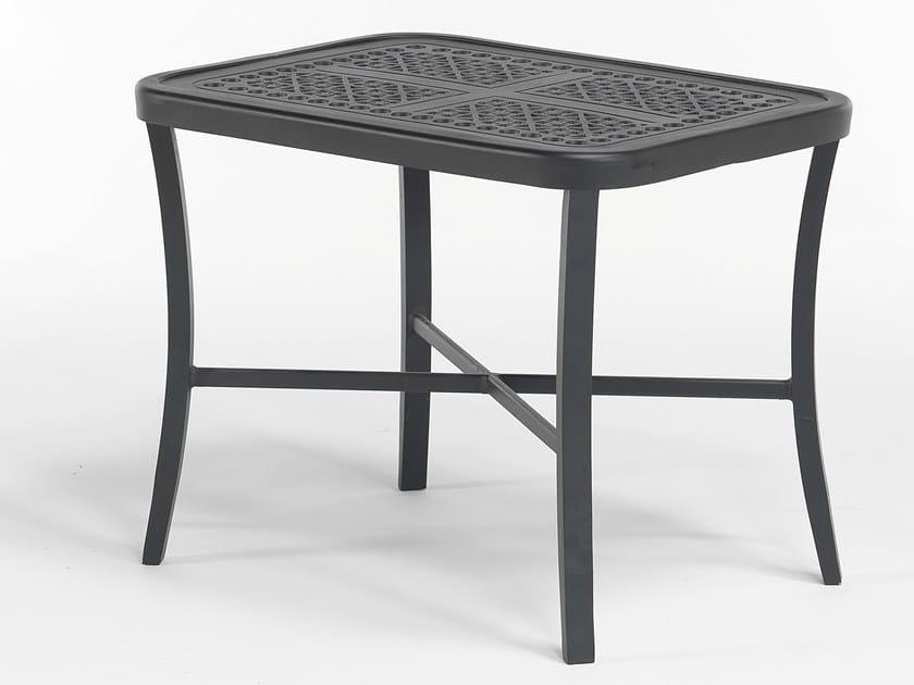 Rectangular aluminium garden side table CENTURIAN   Coffee table by Oxley's Furniture