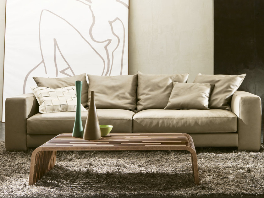 Low solid wood coffee table MILLERIGHE | Coffee table by Pacini & Cappellini