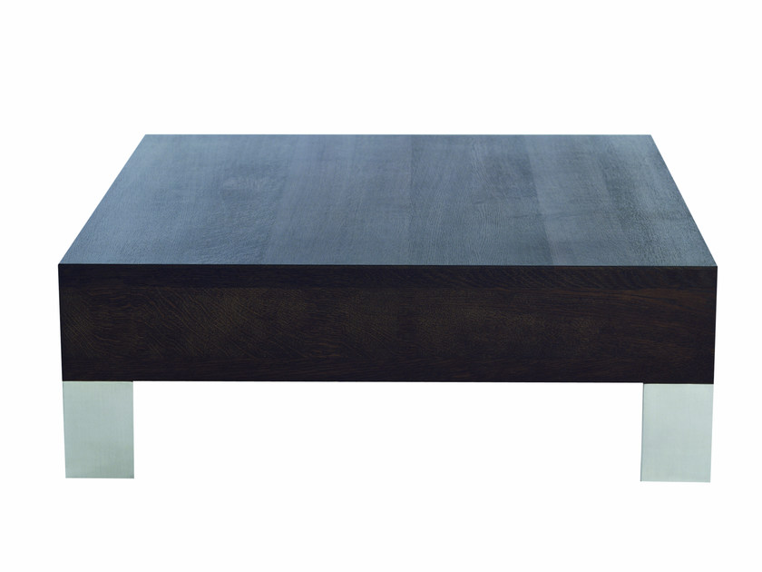 Rectangular wooden coffee table FINCH METAL | Coffee table by Palau
