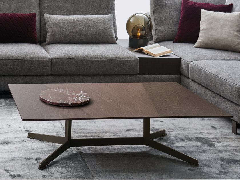Rectangular wooden coffee table SIMETRIA | Coffee table by Papadatos