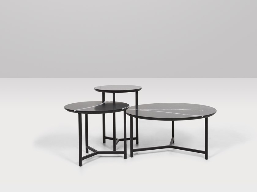 Round quartz coffee table CHICAGO | Coffee table by Recor Home