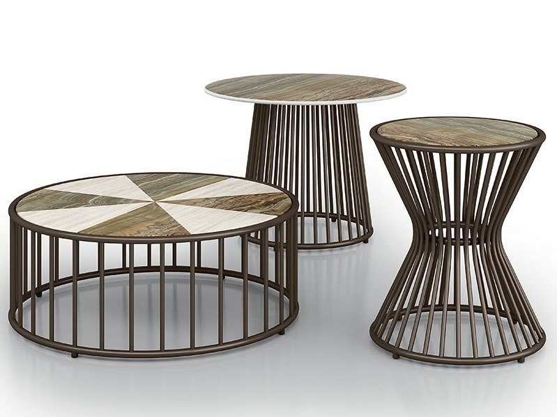 Round coffee table YUCCA | Coffee table by Samuele Mazza by DFN