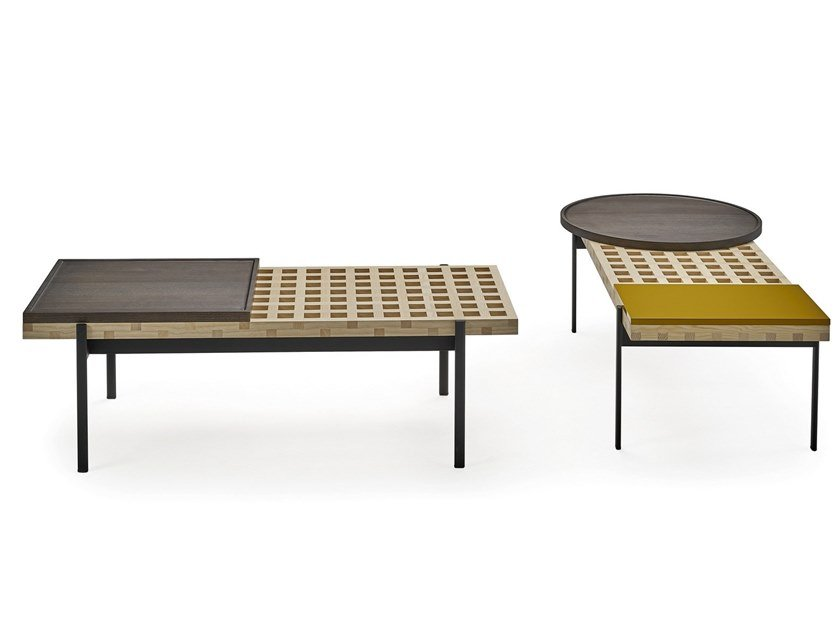 Wooden coffee table INTERCHANGE | Coffee table by Sancal