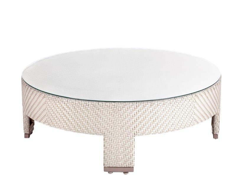 Tavolino da caffè da giardino rotondo TRIBECA | Tavolino da caffè by 7OCEANS DESIGNS